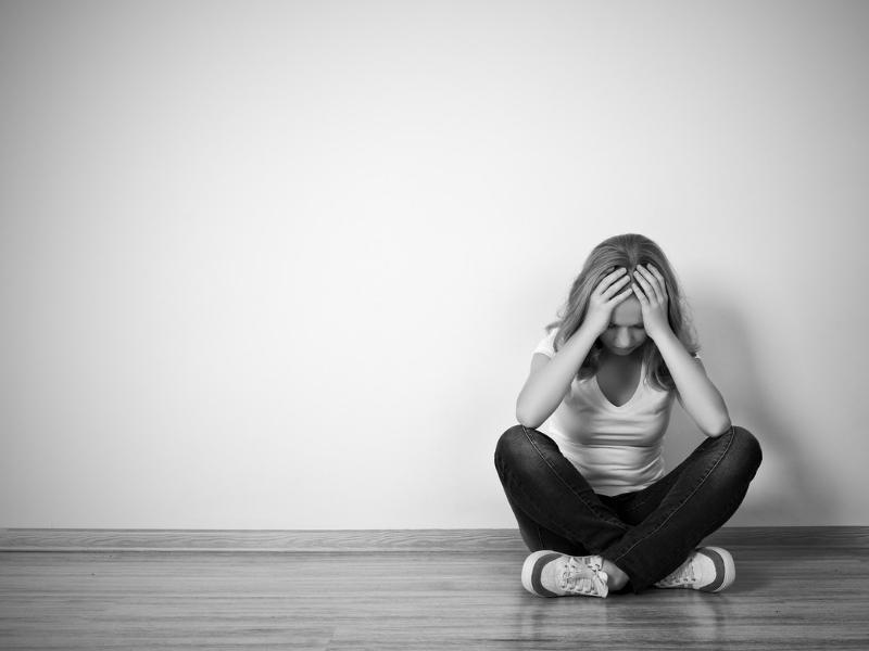 Dépression, anxiété et estime de soi fille